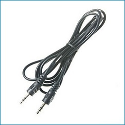 Cable audio jack 3.5mm 2 metros macho-macho